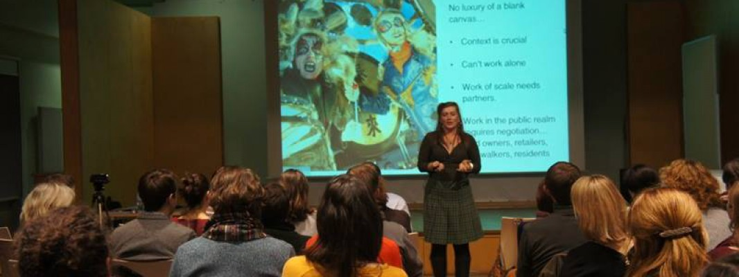 Фотозвіт із лекції Ліз П'ю